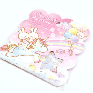 Kindness Sky Flavor Sticker Flakes by Q-LiA - Kawaii Unicorn