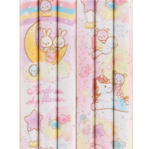 Q-LiA Pencil - Glitter, Unicorn, Bear and Rabbit