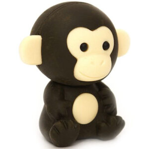 Cute Black Monkey Iwako Eraser