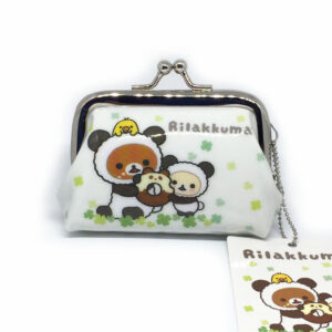 Rilakkuma and Korilakkuma Mini Clasp Purse