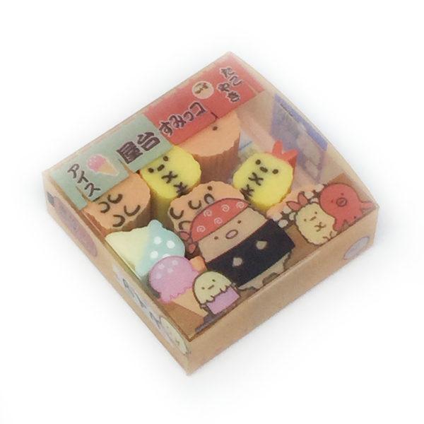Tiny Sumikkogurashi San-X Erasers