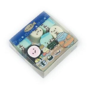 San-X erasers - Tiny Sushi Erasers