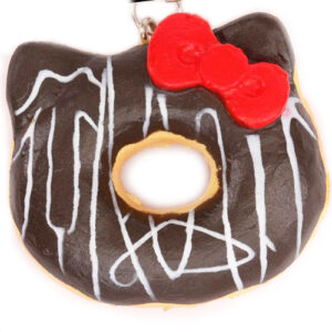 Hello Kitty Squishy Donut Charm