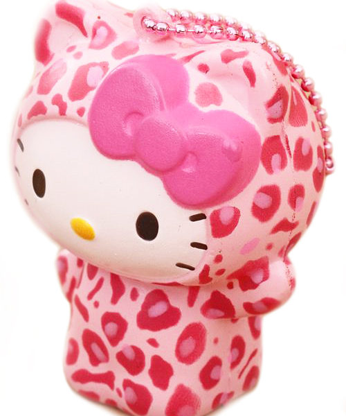 Hello Kitty Squishy Pink Leopard