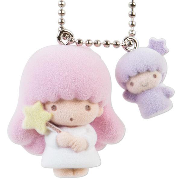 Little Twin Stars Lara Ball Chain Mascot Keychain from Sanrio Japan