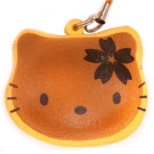 Hello Kitty Pancake Squishy Charm